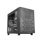 Core X2 - Cube - micro ATX - no power supply (PS/2) - black - USB/Audio