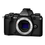 OM-D E-M5 Mark II - Digital camera - mirrorless - 16.1 MP - Four Thirds - body only - Wi-Fi - black
