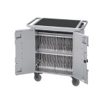PureCharge Cart 40 - Cart (charge only) for 40 tablets - steel - for Apple iPad mini; iPad mini 2; 3; 4