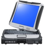 "Panasonic Toughbook 19 - Convertible - Core i5 3610ME / 2.7 GHz - Win 8.1 Pro 64-bit - 4 GB RAM - 500 GB HDD - 10.1"" touchscreen 1024 x 768 - HD Graphics 4000 - rugged - with Toughbook Preferred CF-19ZE001BM"