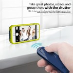 Selfy Wireless Remote Camera Shutter for iPhone 6 - Blue