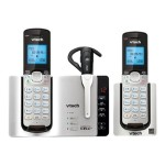 DS6671-3 - Cordless phone - answering system - Bluetooth interface with caller ID/call waiting - DECT 6.0 + additional handset