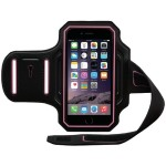 Endurance Armband for iPhone 6s & 6s & 6 - Black/Pink