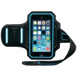 Endurance Armband for iPhone 6s & 6s & 6 - Black/Cyan