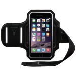 Endurance Armband for iPhone 6s & 6s & 6 - Black/Silver
