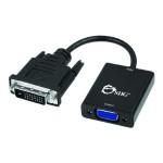 DVI-D to VGA Active Adapter Converter - Video converter - DVI - black