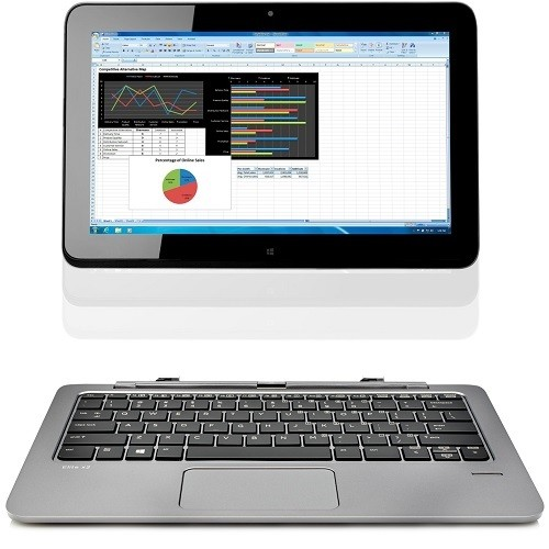 HP Inc. Smart Buy Elite x2 1011 G1 Intel Core M-5Y10c Dual-Core 0.8GHz Tablet with Power Keyboard