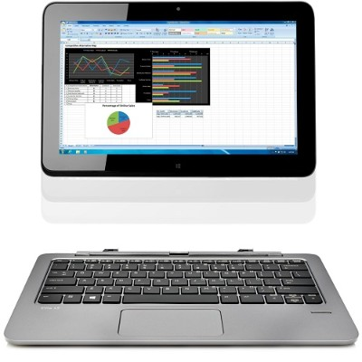 HPSmart Buy Elite x2 1011 G1 Intel Core M-5Y71 Dual-Core 1.20GHz Tablet with Powered Keyboard - 4GB RAM, 128GB SSD, 11.6