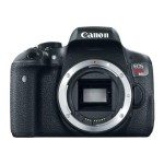 EOS Rebel T6i - Digital camera - SLR - 24.2 MP - APS-C - 1080p - body only - Wi-Fi, NFC