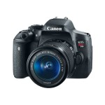 Canon EOS Rebel T6i - Digital camera - SLR - 24.2 MP - APS-C - 1080p - 3x optical zoom EF-S 18-55mm IS STM lens - Wi-Fi, NFC 0591C003