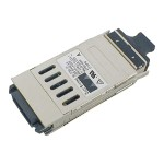 GBIC transceiver module - Gigabit Ethernet - 1000Base-SX - SC/PC multi-mode - up to 0.6 miles - 850 nm - refurbished