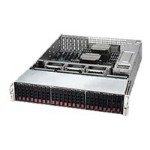 "Supermicro SuperStorage Server 2028R-E1CR24H - Server - rack-mountable - 2U - 2-way - RAM 0 MB - SAS - hot-swap 2.5"" - no HDD - AST2400 - GigE, 10 GigE - no OS - monitor: none"