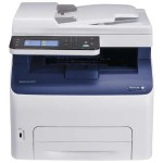 Xerox WorkCentre 6027/NI - Multifunction printer - color - LED - Legal (8.5 in x 14 in) (original) - A4/Legal (media) - up to 18 ppm (copying) - up to 18 ppm (printing) - 150 sheets - 33.6 Kbps - USB 2.0, LAN, Wi-Fi(n), USB host with 1 year  Total Satisfaction 6027/NI