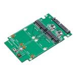 SY-ADA40090 - Storage controller (RAID) - mSATA - mSATA - 6 GBps - RAID 0, 1, JBOD - SATA 6Gb/s