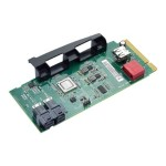 ThinkStation Multi IO port Flex Adapter - Storage controller - USB 2.0 / SATA / SAS - PCIe x8 - for ThinkStation P500; P700; P900