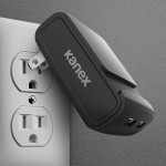 MiColor 2.4A Black Dual Port Wall Charger - Black