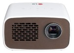 LG Electronics Minibeam LED Projector with Embedded Battery and Built-in Digital Tuner PH300