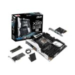 ASUS X99-DELUXE/U3.1 - Motherboard - ATX - LGA2011-v3 Socket - 1 CPUs supported - X99 - USB 3.0 - Bluetooth, 2 x Gigabit LAN, Wi-Fi - HD Audio (8-channel) - with  USB 3.1 Type-A CARD X99-DELUXE/U3.1