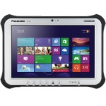 "Panasonic Toughpad FZ-G1 Intel Core i5-5300U Dual-Core 2.30GHz Tablet PC - 8GB RAM, 128GB HDD, 10.1"" WUXGA HD LED Touchscreen, 802.11a/b/g/n/ac, Bluetooth, 4G LTE, Webcam, TPM FZ-G1J0602CM"