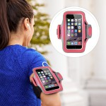 Slim-Fit Plus Armband - Arm pack for cell phone - neoprene - fuchsia - for Apple iPhone 6s & 6