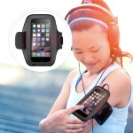 Sport-Fit Armband - Arm pack for cell phone - neoprene - for Apple iPhone 6s & 6
