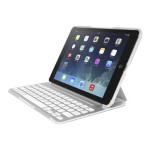 Belkin QODE Ultimate Pro Keyboard Case for iPad Air - White F5L171TTWHT