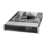Supermicro SC213 AC-R920WB - Rack-mountable - 2U - enhanced extended ATX - SATA/SAS - hot-swap 920 Watt - black