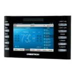 "Crestron Electronics 4.3"" Designer Touch Screen Control System, Black Smooth TPCS-4SMD-B-S"