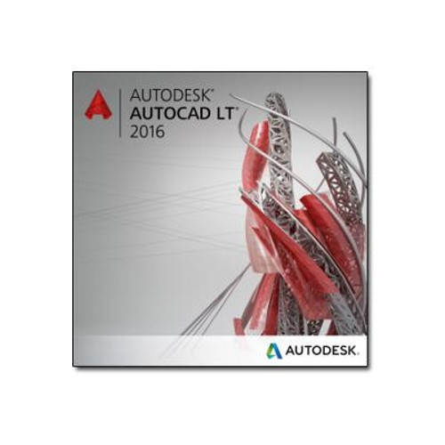 PCM | Autodesk, AutoCAD LT 2016 - Desktop Subscription - Term Based License  (2 years) + Basic Support - 1 seat - commercial - ELD - SLM - Win,