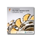 Autodesk Factory Design Suite Ultimate 2016 - Unserialized Media Kit - flash drive - Win - Worldwide English 760H1-WE81T1-L001