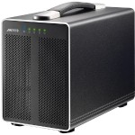 "AKiTiO Thunder2 Quad (enclosure) : Thunderbolt 2 - 4 drive bay RAID or JBOD enclosure for 2.5"" SSD or HD TBQ-TIAA-AKTU"