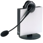 Mono Flex-Boom Wireless Headset for Deskphone (Open Box Product, Limited Availability, No Back Orders)