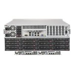 "Super Micro Supermicro SuperServer 6048R-E1CR36H - Server - rack-mountable - 4U - 2-way - RAM 0 MB - SATA/SAS - hot-swap 3.5"" - no HDD - AST2400 - GigE, 10 GigE - monitor: none SSG-6048R-E1CR36H"