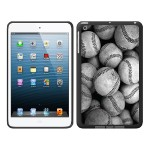 iPad Air Black Matte Case Rugged Collection, Baseball