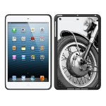 iPad Air Black Matte Case Rugged Collection, Motorcycle