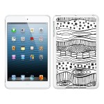 iPad Air White Glossy Case New Age Collection, Waves