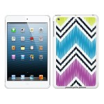 iPad Air White Glossy Case Bold Collection, Chartreuse