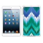 iPad Air White Glossy Case Bold Collection, Teal/Blue
