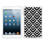 iPad Air White Glossy Case Black/White Collection, Arrows