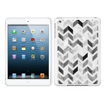OTM IPAD AIR WHITE GLOSSY CASE ZIGGY CO