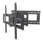"Universal Flat-Panel TV Full-Motion Wall Mount - Single Arm Supports One 37"" to 70"" Television up to 40kg (88lbs)"