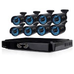 8 Channel Smart HD Video Security System with 1 TB HDD and 8 x 720p HD Cameras