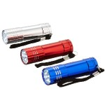 3 pack 41-3246 9 LED Aluminum Flashlight