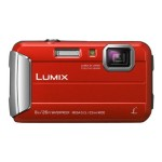 Lumix DMC-TS30 - Digital camera - compact - 16.1 MP - 720p - 4x optical zoom - underwater up to 26.2 ft - red