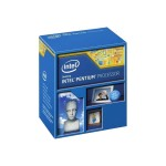 Processor 1 x  Pentium G3260 - 3.3 GHz - 2 cores - 2 threads - 3 MB cache - LGA1150 Socket - Box