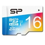 Silicon Power 16GB up to 85MB/s MicroSDHC UHS-1 Class10, Elite Flash Memory Card with Adaptor SP016GBSTHBU1V20SP