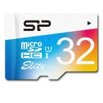 Silicon Power 32GB up to 85MB/s MicroSDHC UHS-1 Class10, Elite Flash Memory Card with Adaptor SP032GBSTHBU1V20SP