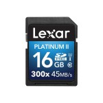 Platinum II 300x SDHC 16GB UHS-I/U1 (Up to 45MB/s Read) Flash Memory Card