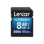 Platinum II - Flash memory card - 8 GB - UHS Class 1 / Class10 - 300x - SDHC UHS-I