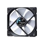 Dynamic GP-12 - Case fan - 120 mm - black, white